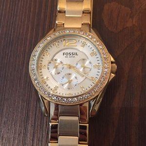 Fossil Gold Watch *Final Sale*
